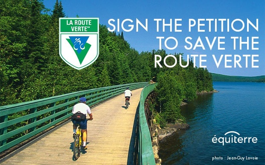 Save OUR Route verte