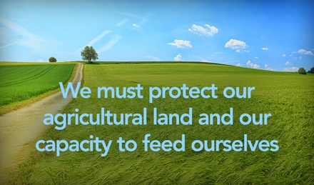 We must protect our agricultural land and our capacity to feed ourselves image