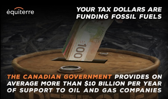 Canada must eliminate fossil fuel subsidies